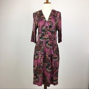 Trina Turk Midi Length Dress Size 10